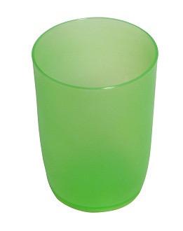 Стакан  пластиковый для напитков 285 мл С26 ЗЕЛ