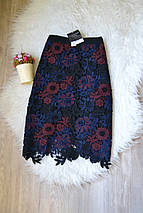 Новая кружевная юбка а-силуэта Topshop, фото 2