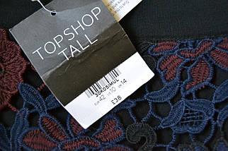 Новая кружевная юбка а-силуэта Topshop, фото 3