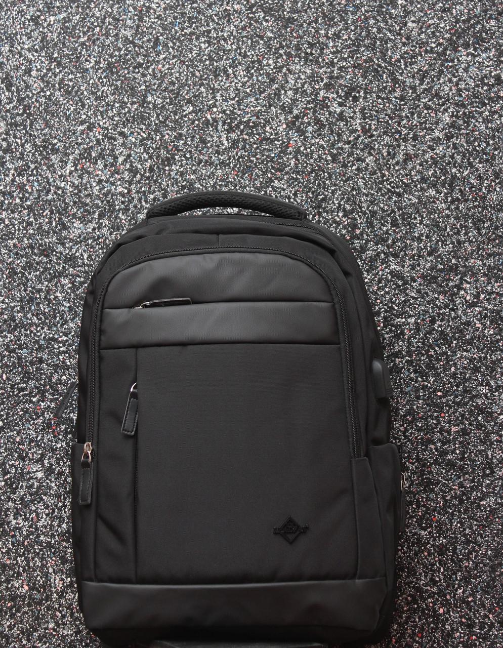 Мужской повседневный городской рюкзак с отделом под ноутбук и USB ... 3517f7b8b46