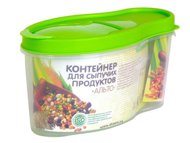 """Контейнер для сыпучих продуктов """"Альто"""" 1,4л С282 САЛ"""