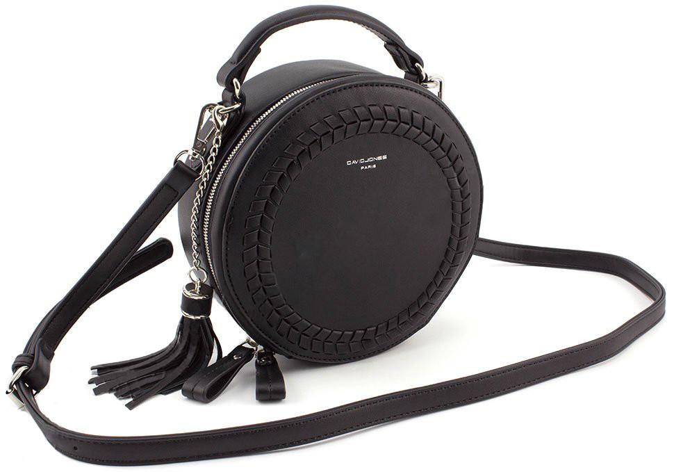 Круглая женская сумка D. Jones СМ3770