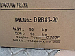 Виброплита трамбовка Dro-Masz DRB 80-90, 90 кг, фото 7