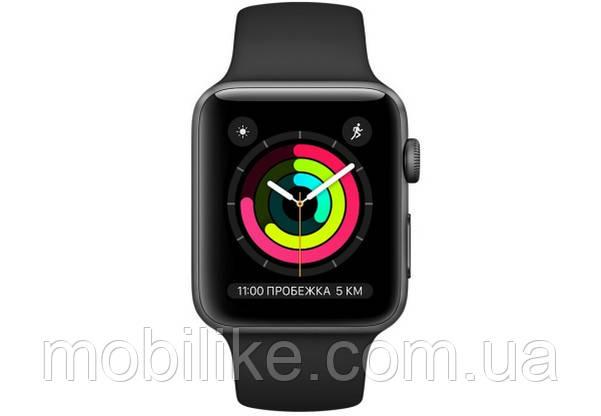 Смарт-часы Apple Watch Series 3 38mm Black (Черный)