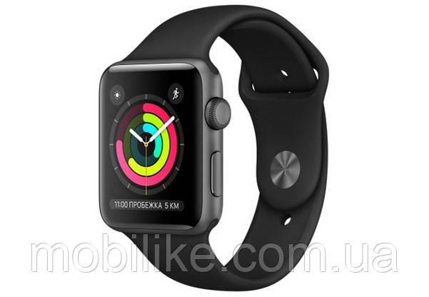 Смарт-часы Apple Watch Series 3 42mm Space Grey (Серый)