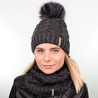 Комплекты женские шапки и шарфы
