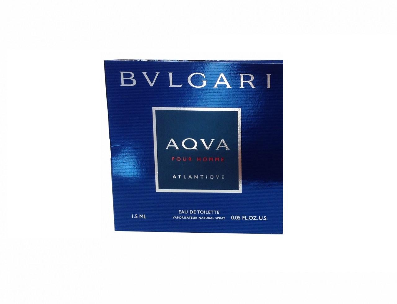 купить Bvlgari Aqva Atlantiqve Edt Vial M 15 парфюмерия мужская в