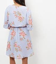 Новое цветочное платье на запАх New Look, фото 2