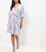 Новое цветочное платье на запАх New Look, фото 3