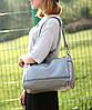 Женская сумка бочонок городского типа, фото 3
