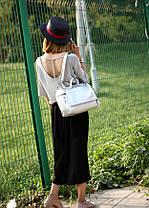 Женская сумка бочонок городского типа, фото 2