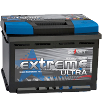 Аккумулятор автомобильный Extreme Ultra 77AH R+ 750А