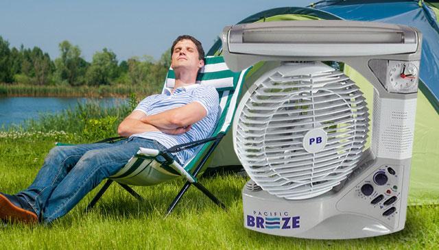 Многофункциональный вентилятор PACIFIC BREEZE 6 in 1 EL-2102