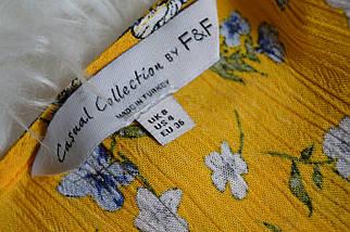 Цветочное миди платье с пуговичками F&F, фото 2