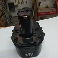 Аккумулятор (батарея) на шуруповерт 18 В (Ni-Cd), фото 1