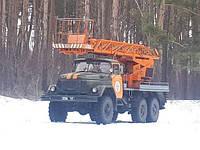 Послуги автопідіймача (автовишки) АП-17 підвищеної прохідності