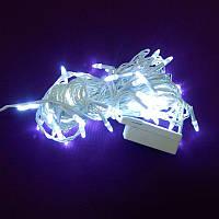 Гирлянда Нить Конус-рис LED 100 белый, белый провод (1-26)