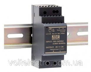 Блок питания Mean Well HDR-30-12 на DIN-рейку 15 Вт; 12 В; 2A