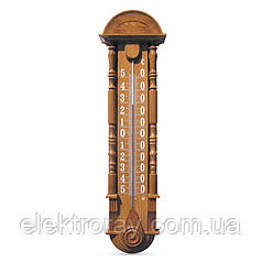 """Термометр уличный фасадный большой деревянный """"Барокко"""" ТФ-2П"""