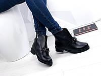 Женские ботинки черные, 38 размер, фото 1