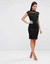 Новое черное кружевное платье Lipsy, фото 2