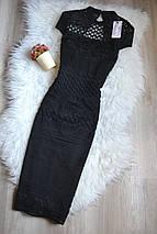 Новое черное кружевное платье Lipsy, фото 3