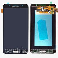 Дисплей (экран) для Samsung J710F Galaxy J7 (2016) + тачскрин, цвет черный, TFT