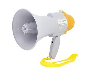 Мегафон рупор громкоговоритель Спартак RD-8S дальность 200м