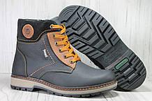 Зимові підліткові високі шкіряні черевики розміри:35,36,37