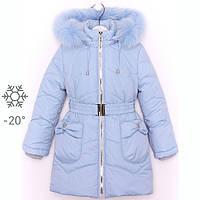 Красивые теплые зимние куртки для девочек