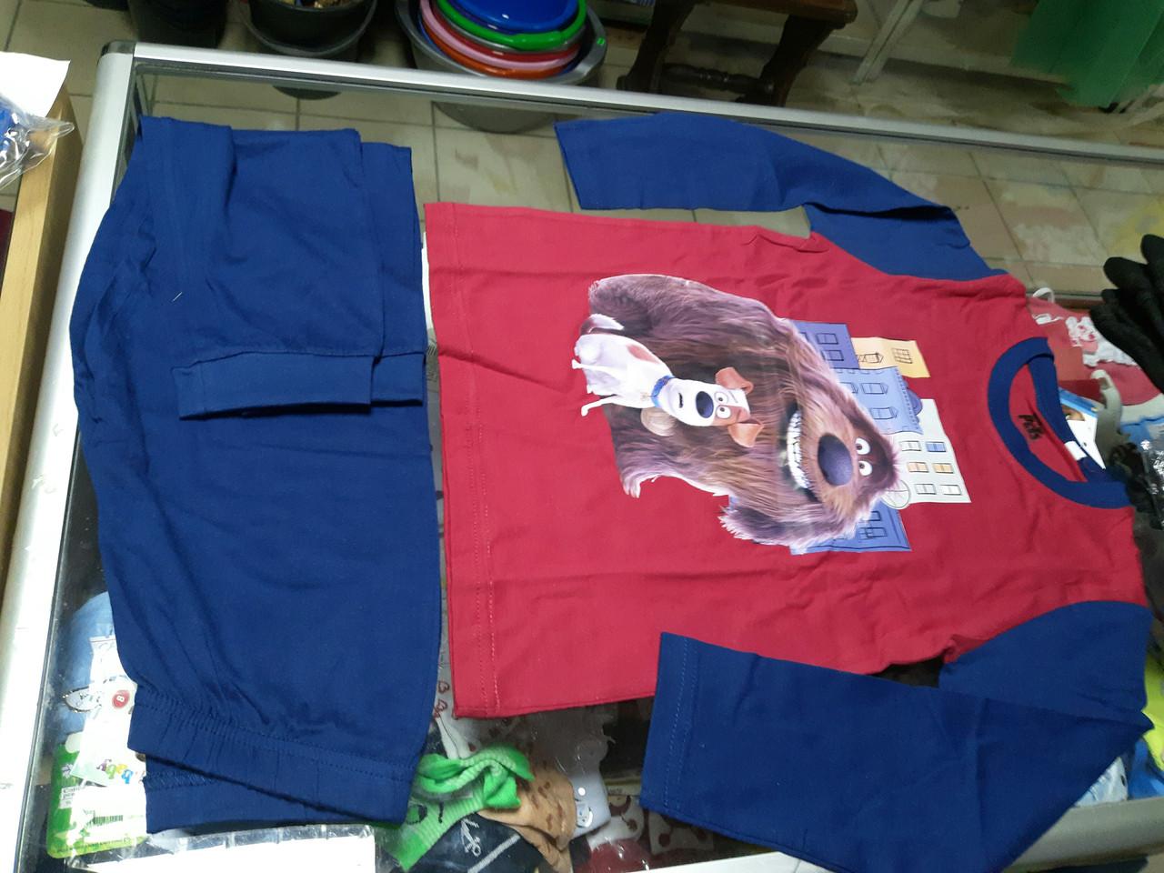 Пижама детская для мальчика Дисней р.110 - 128