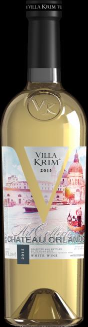 Вино белое полусладкое Villa Krim Chateau Orlando 0.75л