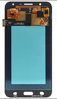 Дисплей (экран) для Samsung J701F Galaxy J7 Neo + тачскрин, цвет золотистый, копия
