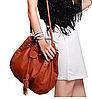 Стильная женская сумка хобо на затяжке, фото 3