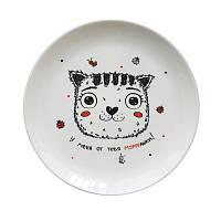 Тарелка PAPAdesign Котик у меня от тебя мурашки (PDP3513)