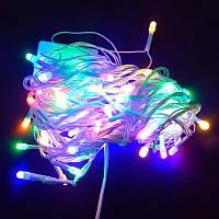 Гирлянда Нить Перламутр LED 100 мульти 4 мм (1-41)