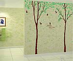 Интерьерная  наклейка на стену - Парные деревья (отличное качество) , фото 4