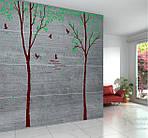 Интерьерная  наклейка на стену - Парные деревья (отличное качество) , фото 5