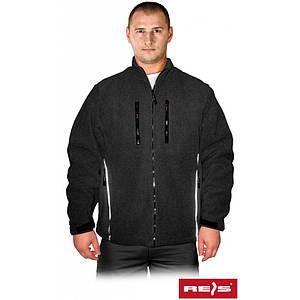 Блуза POLARIS B из флиса, черного цвета. REIS