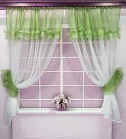 Воздушные кухонные занавески в интернет магазине