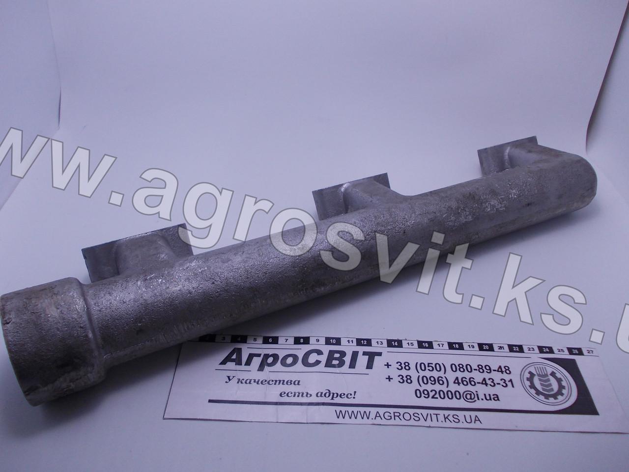 Коллектор (патрубок) водяной задний правый ЯМЗ-240 БМ2, НМ2, ПМ2, 240-1303112-Б
