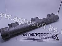 Коллектор (патрубок) водяной задний правый ЯМЗ-240 БМ2, НМ2, ПМ2, 240-1303112-Б, фото 1