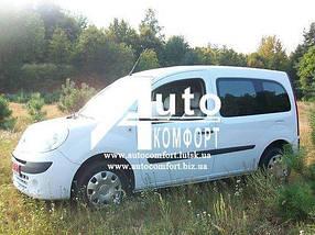 Установка (врезка) боковых автостекол на автомобиль Renault Kangoo 08- (Рено Кангу)