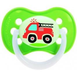 Пустышка латексная круглая 6-18 месяцев Canpol 22/412 Vehicles