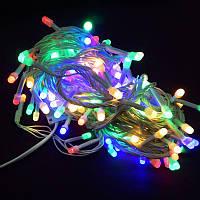 Гирлянда Нить Перламутр LED 200 мульти 4 мм (1-43)
