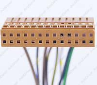 Разъем электрический 26-и контактный (33-6) б/у 383810