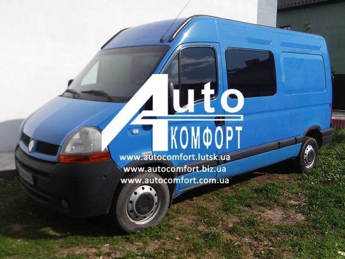 Тонировка автостекол на Renault Master, Opel Movano, Nissan Interstar (97-09) (Мастер, Мовано, Интерстар) -09