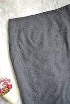Серая юбка-карандаш Zara, фото 3