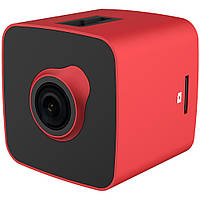 Видеорегистратор Prestigio RoadRunner CUBE 530RB red/black, FHD, 2MP, 30fps, 140В°