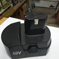 Аккумулятор (батарея) Ni-Cd на шуруповерт 18 В на 3 контакта, фото 1